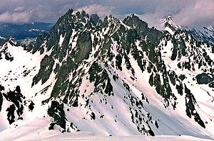 Mount Deception (Washington) - The Needles seen from Mount Deception