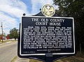 The Old County Courthouse Marker Louisville Alabama.JPG