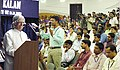 The President Shri A.P.J Abdul Kalam interacting with the students of SSN Institutions at a function in Chennai on December 17, 2003.jpg