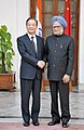 The Prime Minister, Dr. Manmohan Singh meeting the Chinese Premier, Mr. Wen Jiabao, in New Delhi on December 16, 2010 (1).jpg