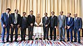 The Prime Minister, Shri Narendra Modi at the India-Rwanda Business Forum, at Kigali, Rwanda on July 24, 2018 (1).JPG