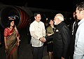 The Prime Minister, Shri Narendra Modi being seen off on his departure for Delhi from Ninoy Acquino International Airport, Manila after attending the ASEAN-India and East Asia Summits, in Philippines on November 14, 2017.jpg