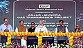 The Prime Minister, Shri Narendra Modi inaugurating the Mundra LNG Terminal & Anjar – Mundra Gas Transmission Project, in Anjar, Gujarat (1).JPG
