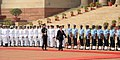 The Prime Minister of Socialist Republic of Vietnam, Mr. Nguyen Tan Dung inspecting the Guard of Honour, at the Ceremonial Reception, at Rashtrapati Bhavan, in New Delhi on October 28, 2014.jpg