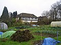 The Priory and allotments, Kings Langley (geograph 2310899).jpg