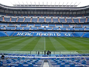 1982 FIFA World Cup Final - The Santiago Bernabéu Stadium held the final