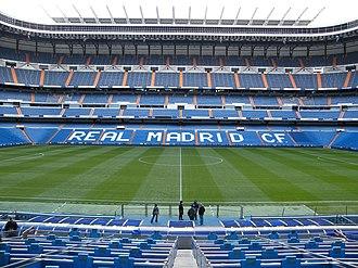 Santiago Bernabéu Stadium - Image: The Santiago Bernabeu Stadium U g g B o y