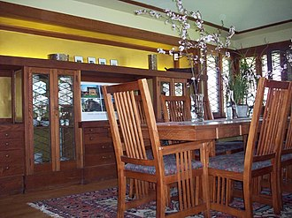 Walter V. Davidson House - Image: The Walter V. Davidson House Dining Room