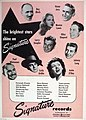The brightest stars shine on Signature, 1947.jpg