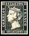 The first postage stamp of Spain.jpg