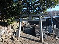 The former site of old Tamamoro Shrine Kofu City.JPG