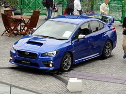 The frontview of Subaru VAB WRX STI Type S.JPG
