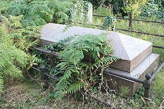 William Garnett (politician) - The grave of William Garnett MP, Brompton Cemetery