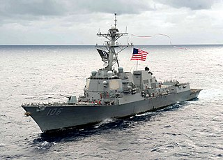 USS <i>Stockdale</i> (DDG-106) Arleigh Burke-class destroyer