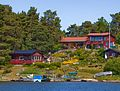 The joy of home and garden on Tynningö, south of Vaxholm - panoramio.jpg