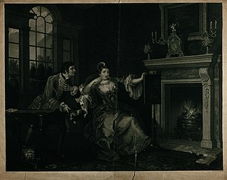 Thomas Cheesman (engraver) - Image: The lady's last stake; a married lady has lost all her cards Wellcome V0049265