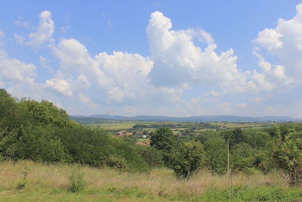 The landscape of Ivankovac