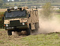 The new Vector vehicle on display on Salisbury Plain. MOD 45147078.jpg
