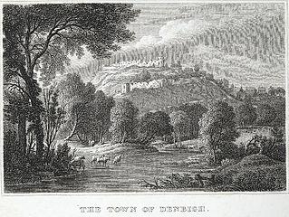 The town of Denbigh