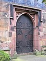 The west door of Hawarden St Deiniol - geograph.org.uk - 628870.jpg