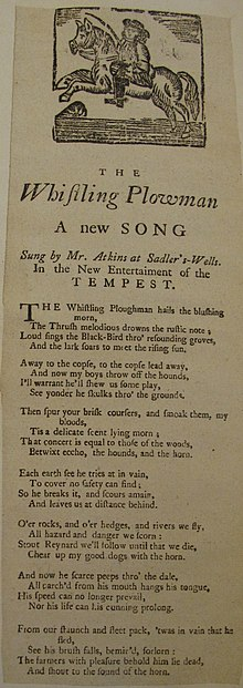 Broadside ballad - WikiVisually