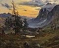 Thomas Fearnley - Soloppgang over Wengernalp (c.1835).jpg
