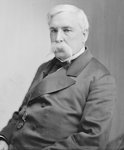 A later portrait of Mayor/Governor Thomas Swann, circa 1865-1880 Thomas Swann of Maryland, sitting.jpg