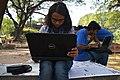 Tilottama Titlee at Wikipedia 15 good article edit-a-thon and adda, Chittagong 1 (01).jpg