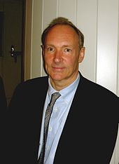 Fotografia de Tim Berners-Lee em abril de 2009