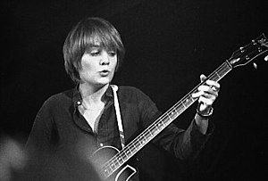Tina Weymouth - Weymouth playing with Talking Heads, Toronto, May 13, 1978