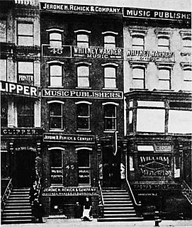 Tin Pan Alley group of New York City music publishers and songwriters who dominated the popular music of the United States in the late 19th century and early 20th century