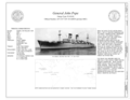 Title Sheet - General John Pope, Suisun Bay Reserve Fleet, Benicia, Solano County, CA HAER CA-343 (sheet 1 of 8).png