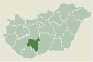 Tolna, Hungary - Image: Tolna Megye