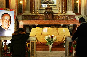 Tomb of Giuseppe Puglisi - Cathedral of Palermo - Italy 2015.JPG