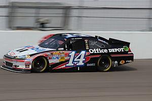 2012 NASCAR Sprint Cup Series - Tony Stewart won his first race of the 2012 season at Las Vegas.