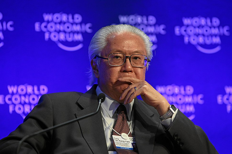 Tony Tan at the Annual Meeting of the World Economic Forum Annual Meeting, Davos, Switzerland - 20090130-01