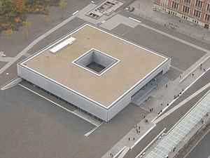 Topography of Terror - Aerial view of the building