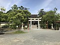 Torii and Romon gate of Kashii Shrine.jpg