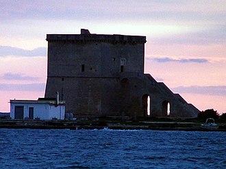 Porto Cesareo - Image: Torre di torre lapillo
