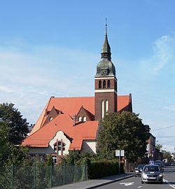 Toruń, kościół św. Jerzego, ul. Podgórna 74 (OLA Z.)