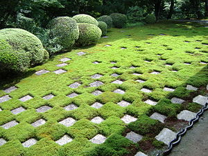 Tōfuku-ji - The moss garden