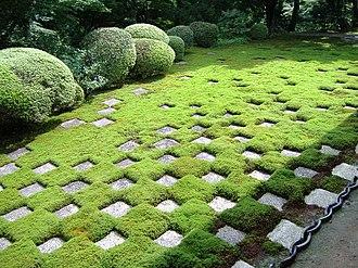 Tōfuku-ji - The moss garden
