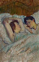 Toulouse-Lautrec - In Bed, 1892.jpg