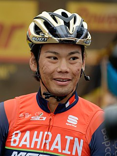 Yukiya Arashiro Japanese road bicycle racer