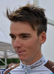 Tips: Romain Bardet 2017 alternativ frisyren mystiska talangfulla  cyclist