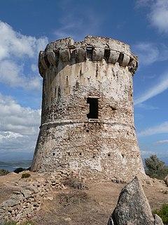 Corrano Commune in Corsica, France
