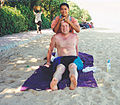Tourist is massaging on Bali.jpg