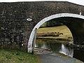 Tow line roller, Mill Hill Bridge - geograph.org.uk - 1766784.jpg