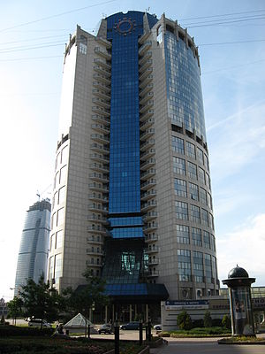 Moscow International Business Center - Image: Tower 2000 in Moscow