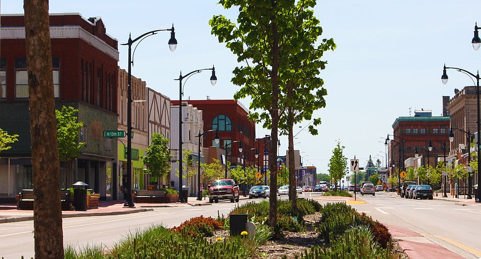 Downtown Superior.